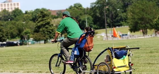 Bici per trasporto bambini idee green for T green srl