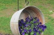 Idee di riciclo per il giardino