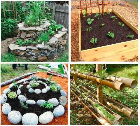 Idee per il giardino idee green - Idee per aiuole giardino ...