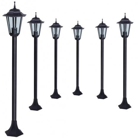 Schwarz Lampioni lanterne