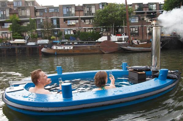 La barca-vasca da bagno