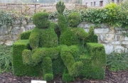 Sculture green a Durbuy