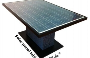 Tavolino fotovoltaico Melis Design