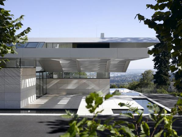Villa A - la veduta