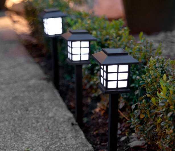 lanterne fotovoltaiche da giardino