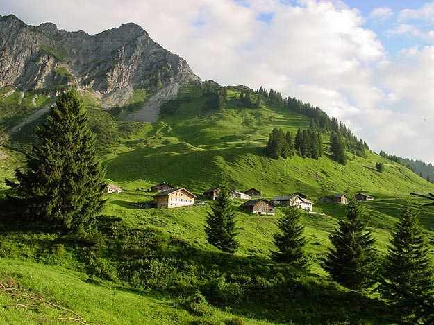 Biosphere Park Grosses Walsertal - Austria