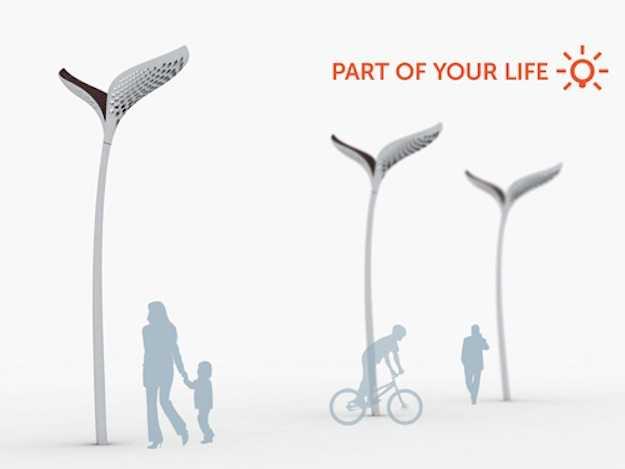 Arredo urbano a energia solare idee green for Illuminazione arredo urbano