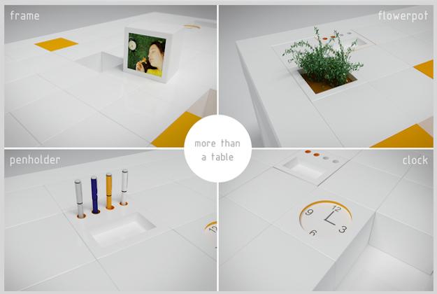 Accessori Ufficio Design : Tavolo da ufficio alto design idee green