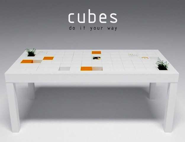 tavolo da ufficio alto design idee green