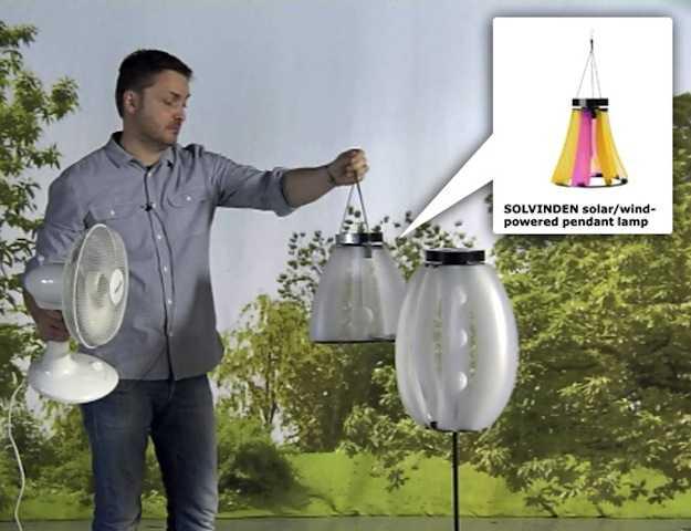 Lampade a energia rinnovabile by ikea idee green - Lampada energia solare ikea ...