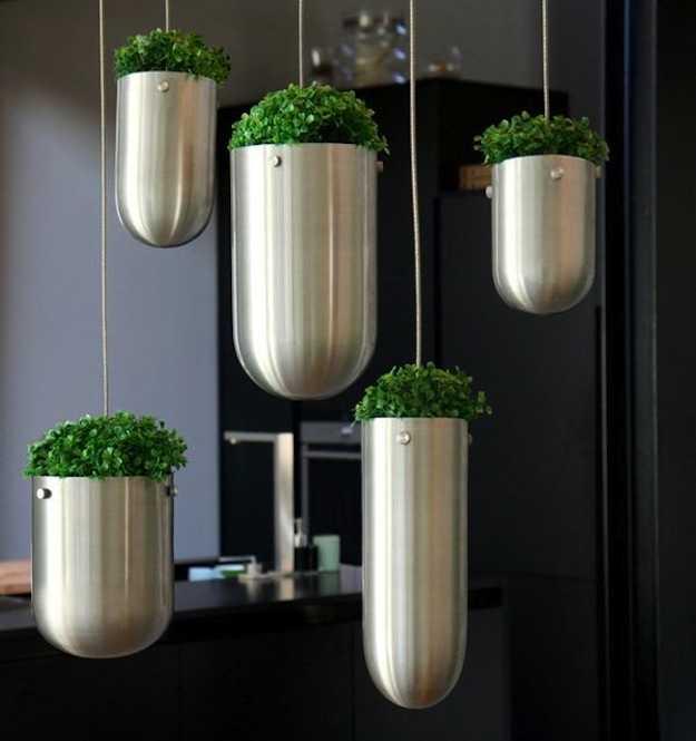 Kitchen Garden Pots: Floating Garden, Il Giardino In Casa