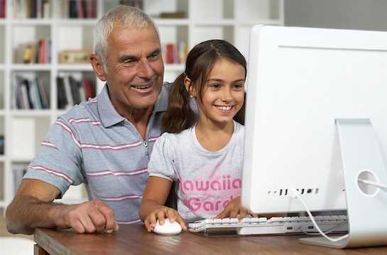 Nonno tecnologico