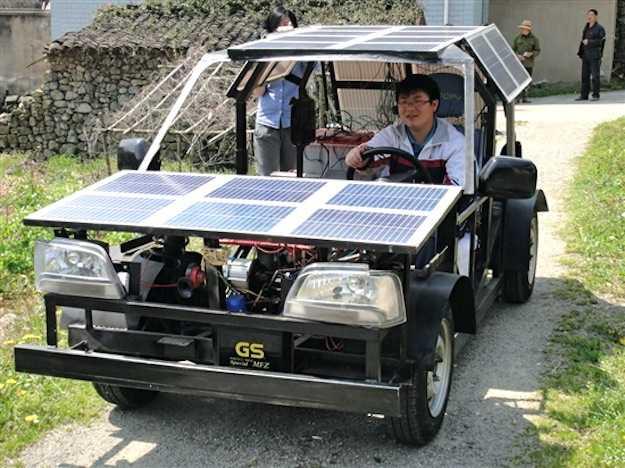 Auto elettrica fai da te idee green for Essiccatore solare fai da te