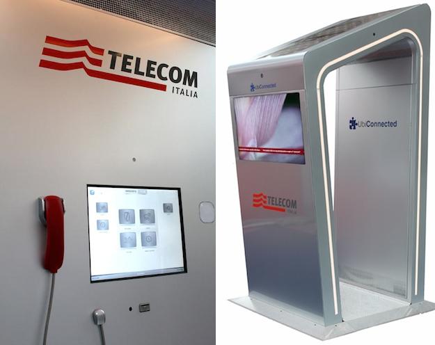 A torino la prima cabina telefonica smart idee green for Tsukiji prima cabina