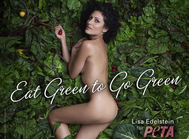 Lisa Eedelstein nuda per PETA