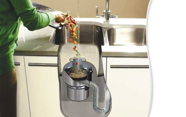 Il dissipatore di rifiuti alimentari
