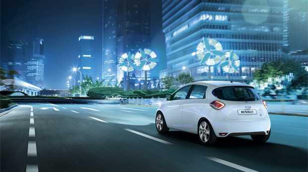 Auto elettrica Zoe della Renault
