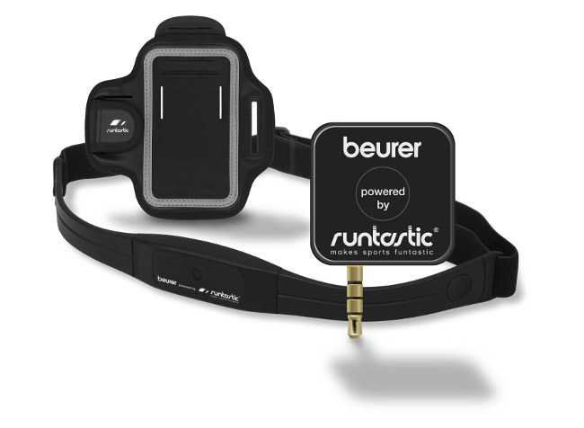 Cardiofrequenzimetro Runtastic di Beurer