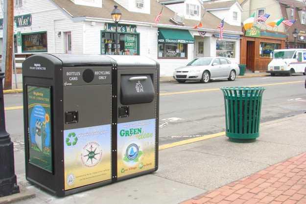 Compattatori dei rifiuti BigBelly