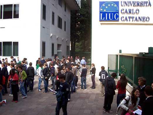 Studenti della LIUC di Castellanza