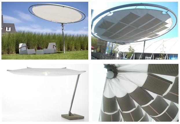 Pannello Solare Per Ombrellone : Ombrellone solare idee green
