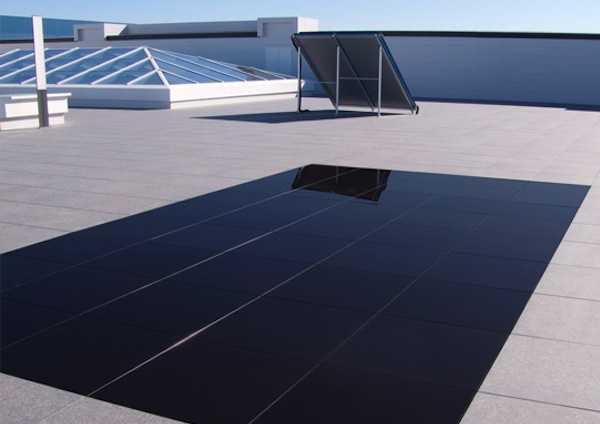 Piastrelle fotovoltaiche calpestabili idee green