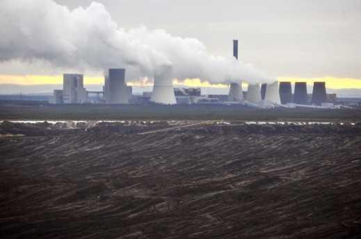 Centrale elettrica lignite