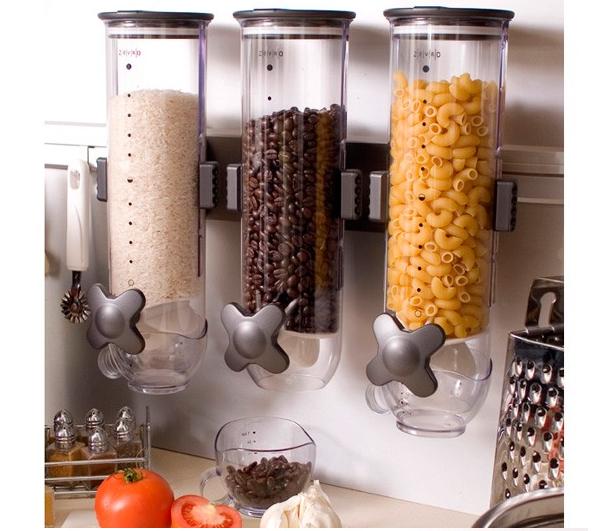 Dispenser alimentare per la casa idee green - Antifurti per la casa ...