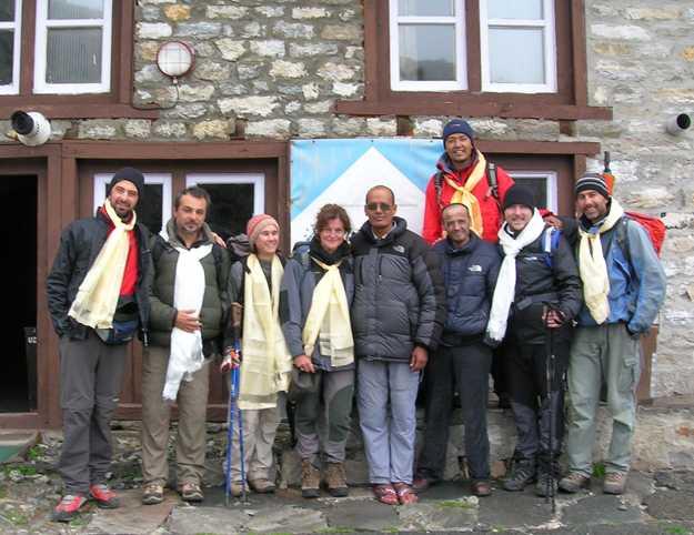 Team IRSA sull'Himalaya