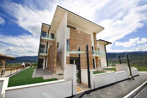 Casa in legno costruire bene e abitare meglio idee green - Costruire casa di legno ...