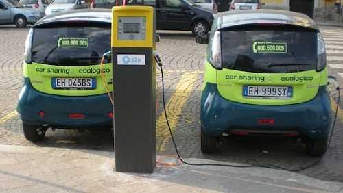 Colonnine ddi ricarica per auto elettriche a Milano
