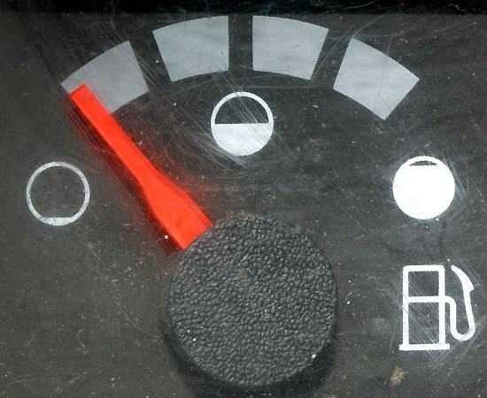 Finita la benzina