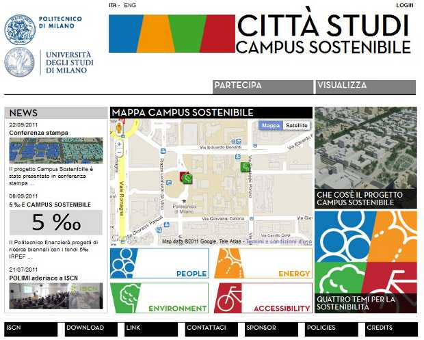 Progetto del Campus sostenibile