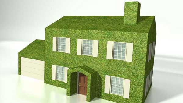 Una casa verde