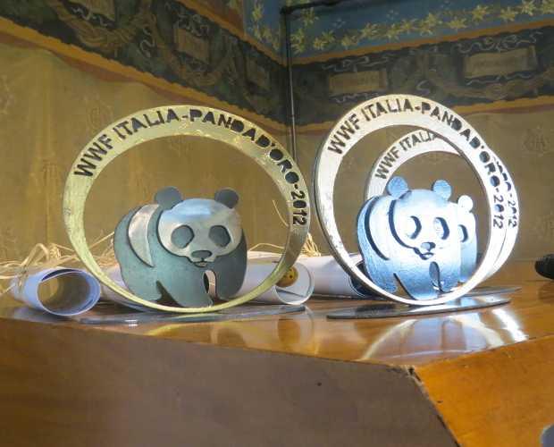 Il premio Panda d'Oro 2012 del WWF