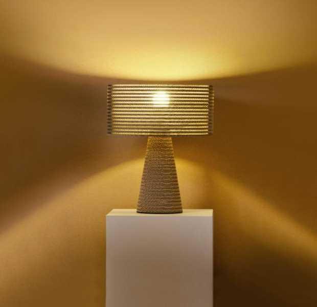 La lampada di cartone Layer