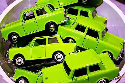 Macchine verdi