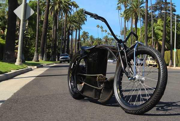 Bici Elettrica Ispirata