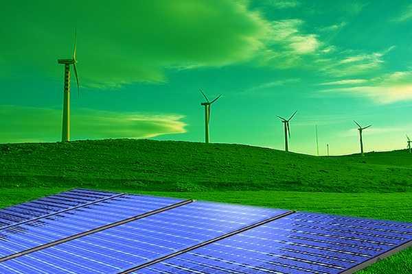 Pale eoliche e pannelli fotovoltaici