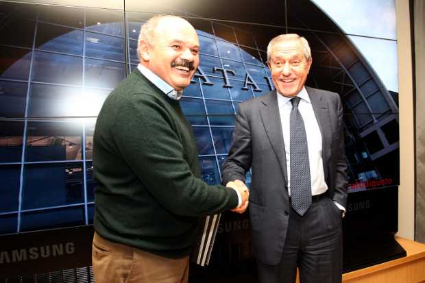 Firma accordo Eataly-Italo