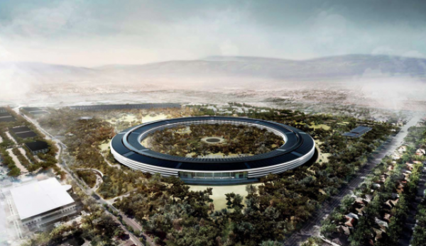 Campus apple di cupertino idee green for Novembre arredamenti copertino