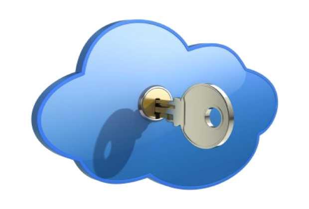 Nuvola con chiave