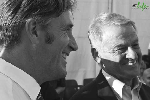 Simiani e il ministro Clini