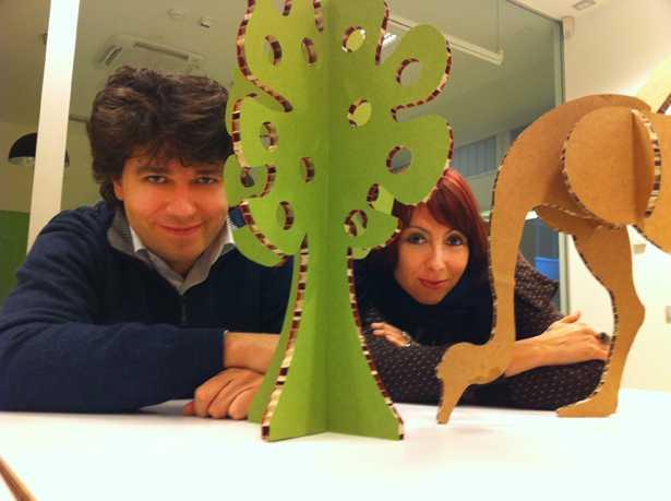 Stefano Benetti e Alessandra Balzani