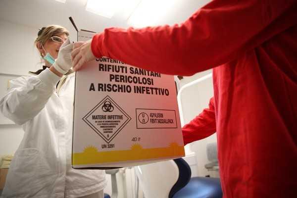 Trattamento dei rifiuti ospedalieri