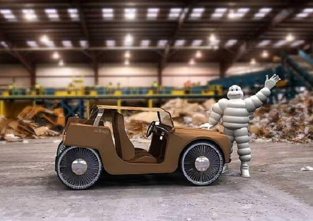 Super Car-D-Board, dal cartone riciclato - Idee Green NP75