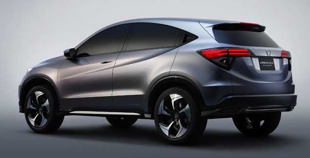 Honda urban concept suv idee green