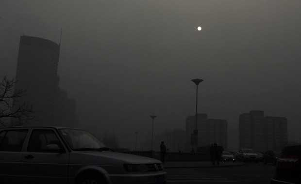 Immagine di Pechino a gennaio 2013