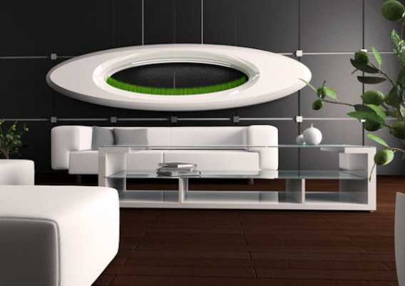 Lampada grass con vegetazione idroponica idee green - Colture idroponiche in casa ...