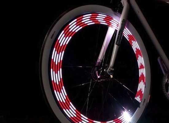 Luci per bici a led: luci per bici a led: set di luci per bici di